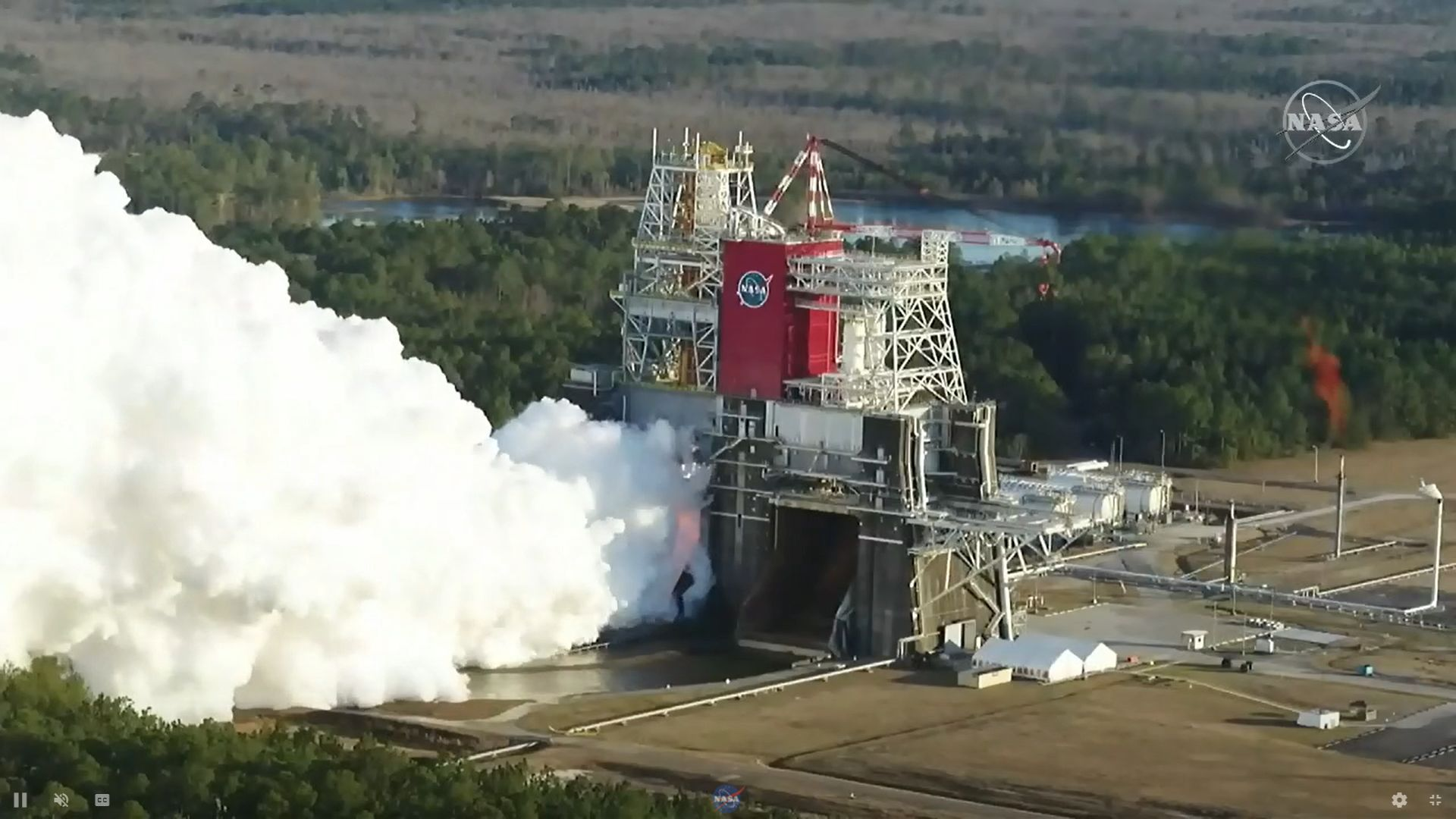 SLS test fire