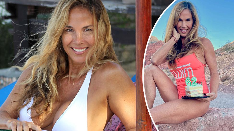 Bikini model grandma, 62, constantly mistaken for son's girlfriend