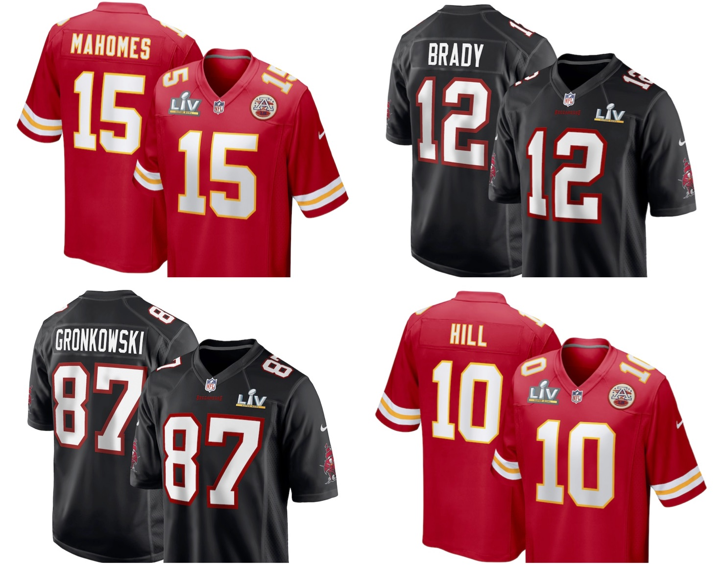 NFL: Where to buy Super Bowl LV jerseys