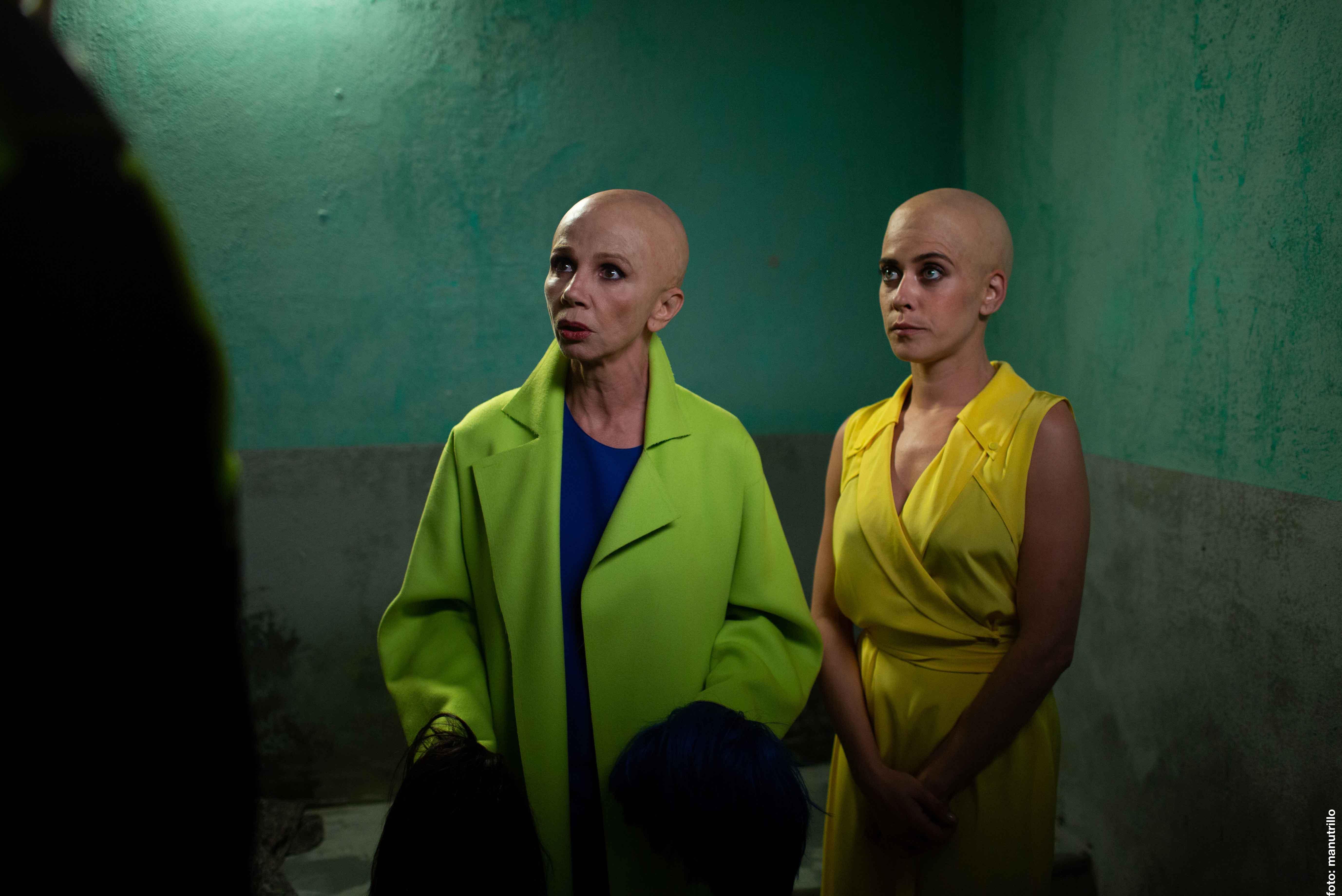 瑪麗亞・萊昂(右)此次飾演單身、獨居、生活簡單的輕熟女伊娃。她在得知自己罹癌後,在朋友的鼓勵下,決定勇敢放手一搏