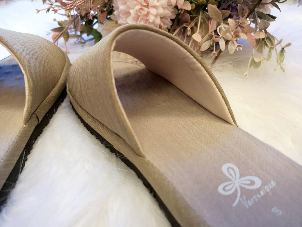 【居家精品拖鞋推薦】靜音防滑、加厚乳膠墊*維諾妮卡 冰咖啡紗舒壓乳膠室內拖鞋