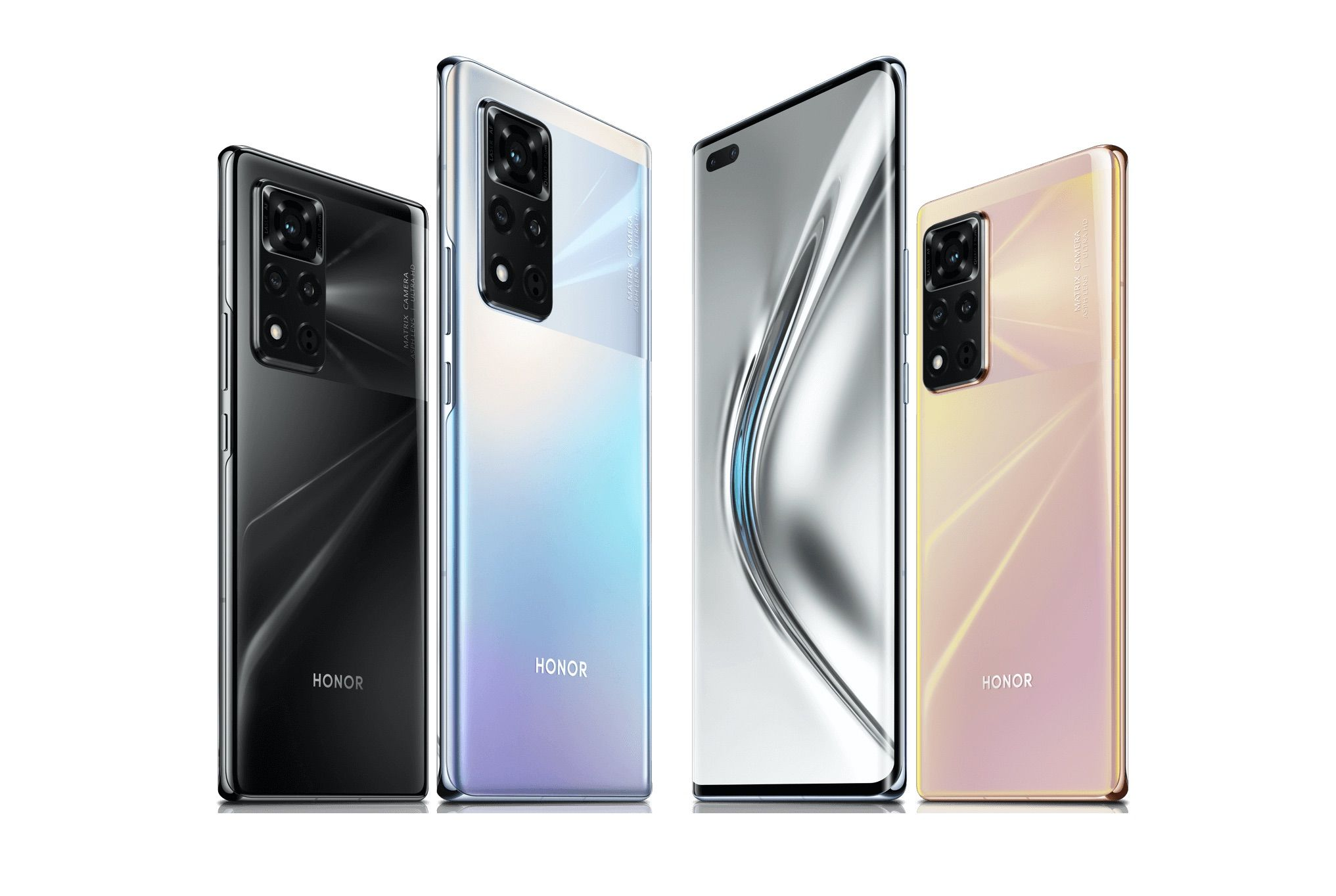 The View40 is Honor's first phone after splitting from Huawei