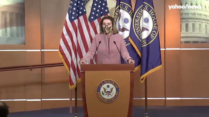 Pelosi, McCarthy respond to questions about House members' role in the Capitol assault