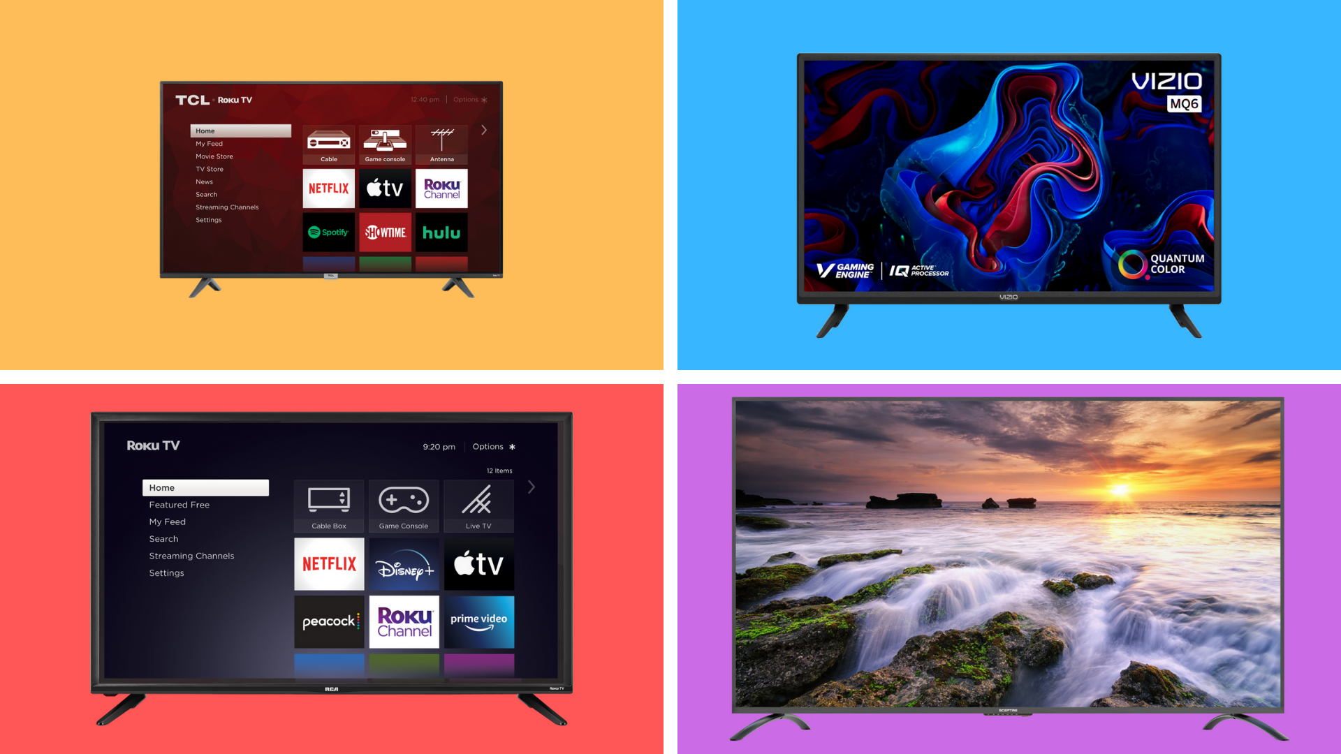 The best TV deals for the long weekend just went live — and they start at 0