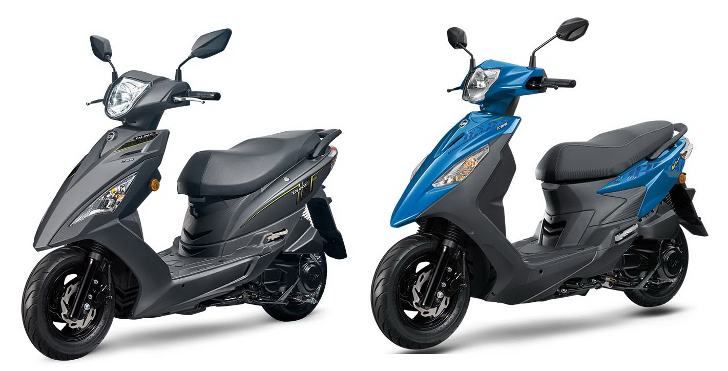 圖/2020 SYM迪爵Duke 125 CBS(左)與2020 SYM活力Vivo 125 CBS,皆採用SOHC 2V空冷單缸引擎、排氣量也皆為124.6cc,兩者無論是性能或價位都很接近。