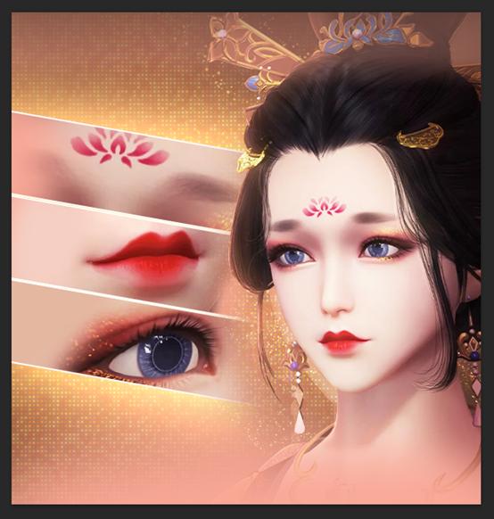 瞳色、唇色隨你心情變換!