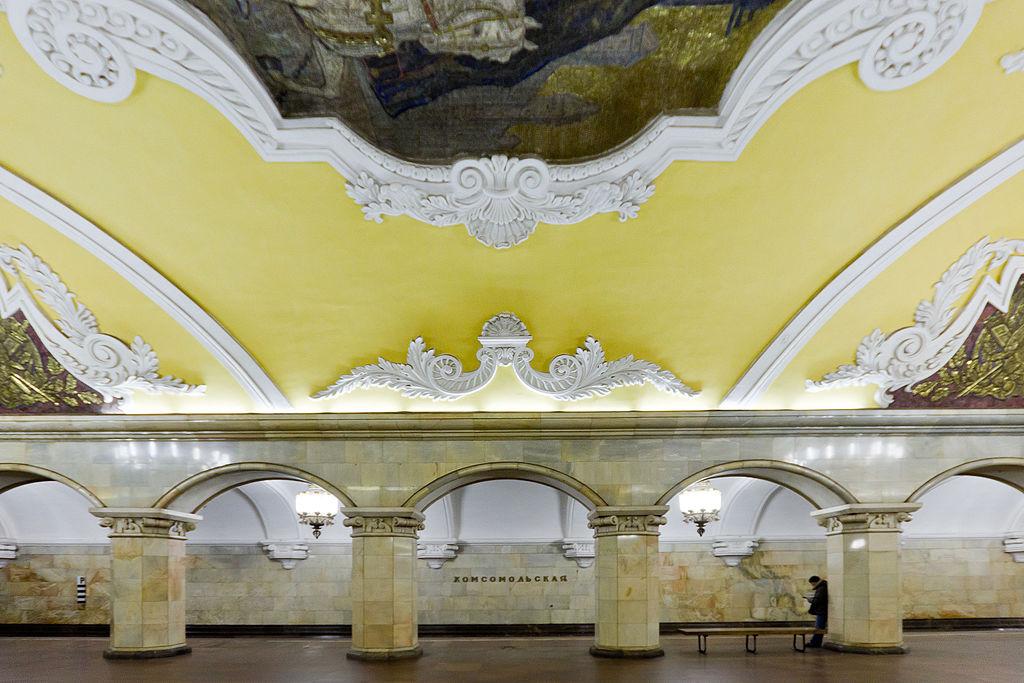 地鐵共青團站 (Photo by Antares 610, License: CC0, Wikimedia Commons提供)