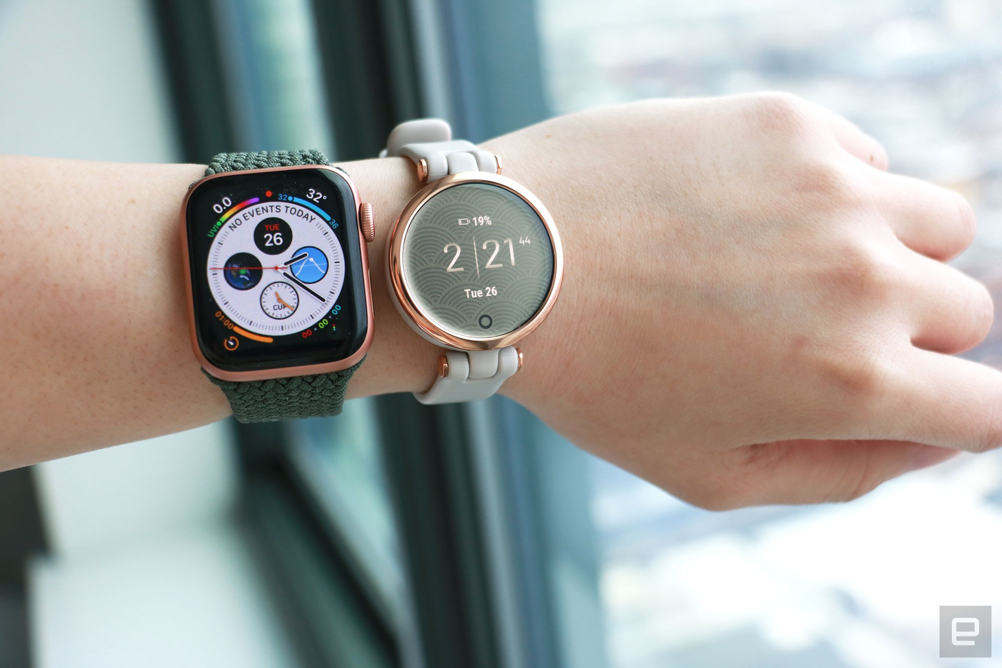 Garmin Lily hands-on pictures