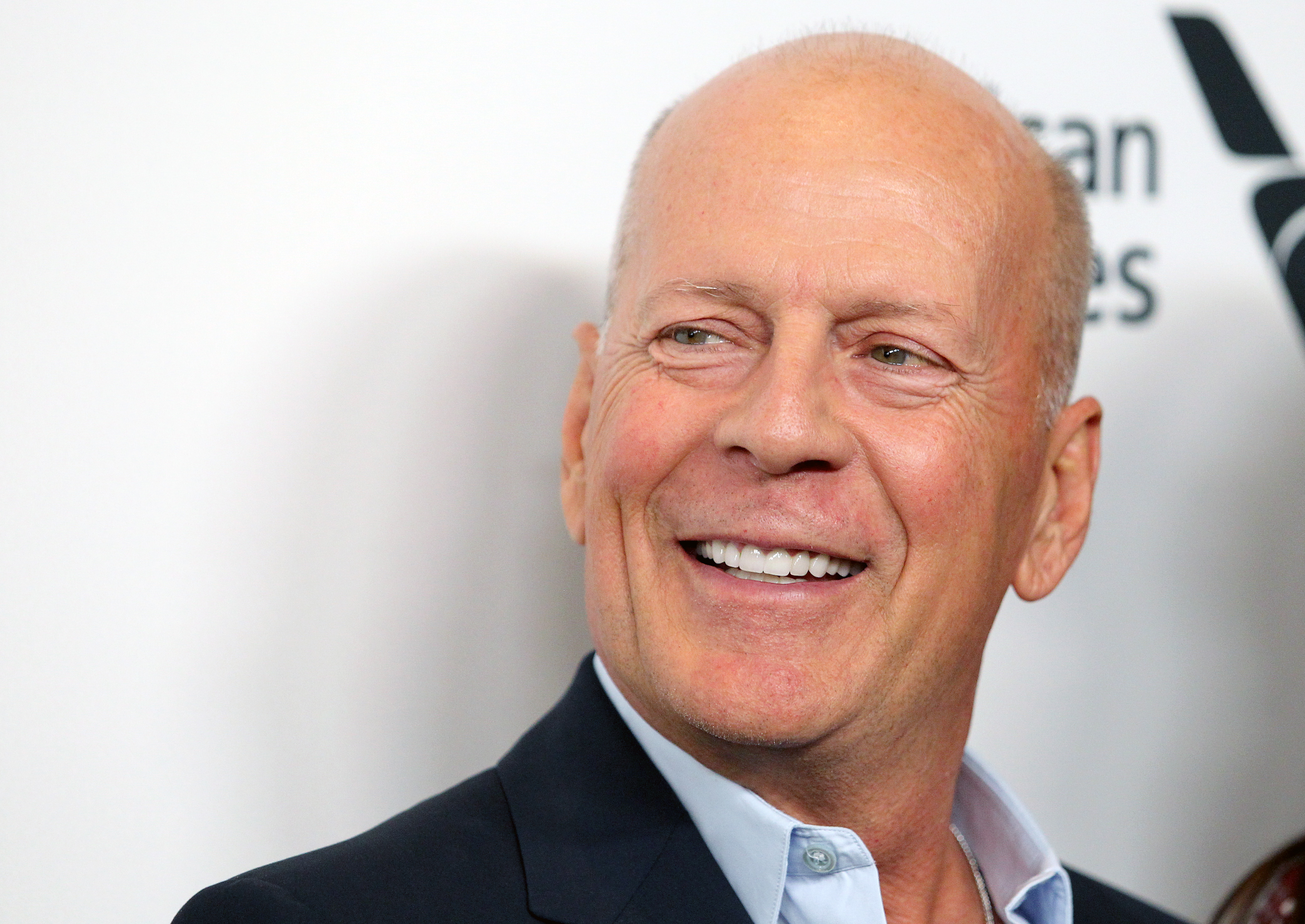 """NEW YORK, NEW YORK - OCTOBER 11: Actor Bruce Willis attends the """"Motherless Brooklyn"""" premiere during the 57th New York Film Festival on October 11, 2019 in New York City. (Photo by Jim Spellman/WireImage)"""