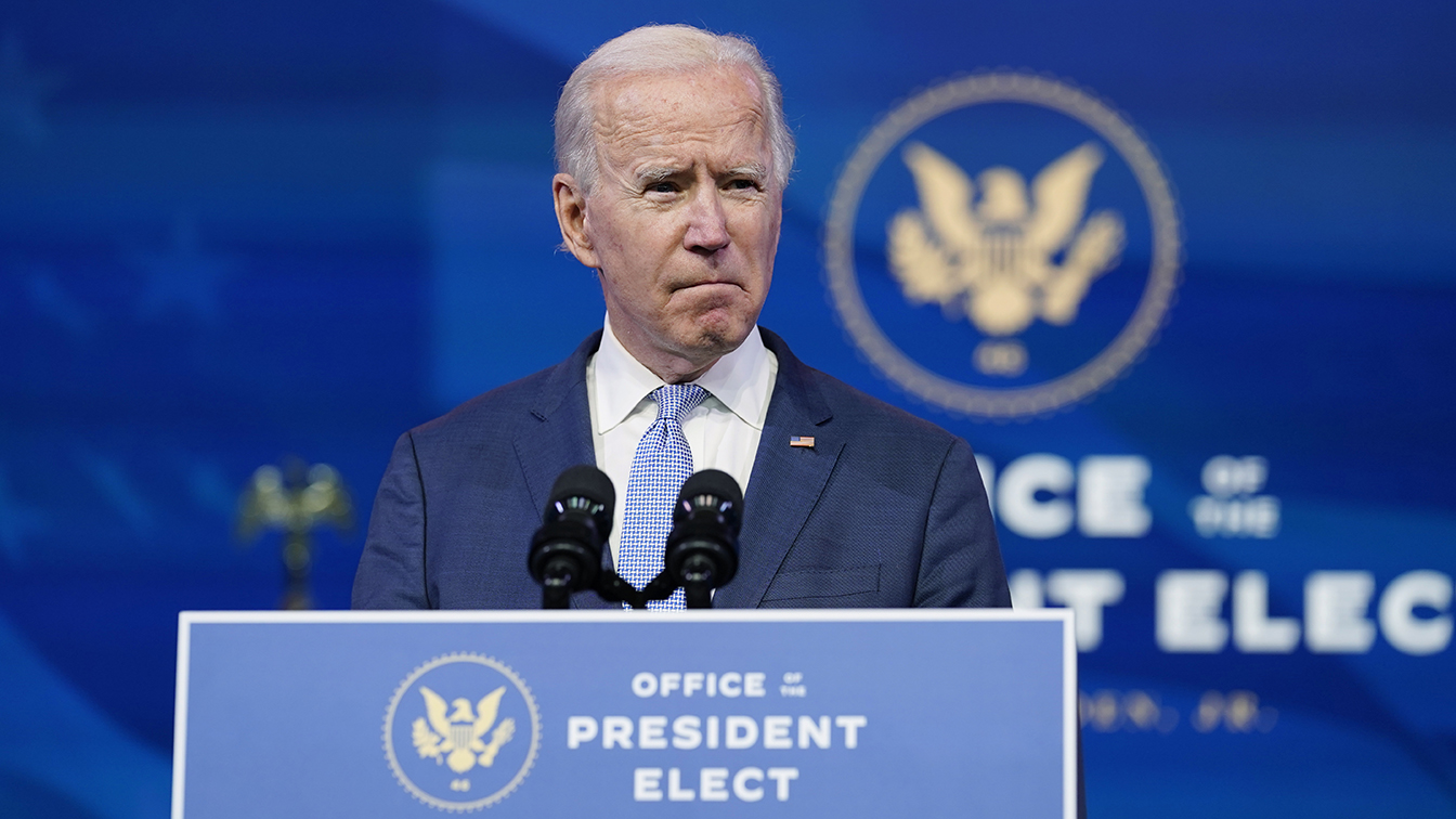 Biden condemns storming of the U.S. Capitol: 'This is not a protest. It is insurrection.'