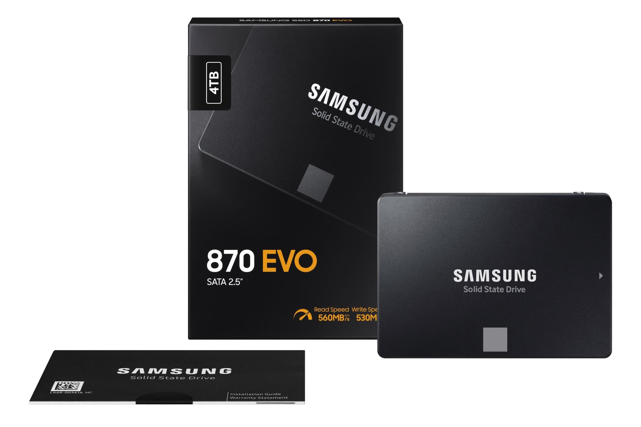 三星870 Evo SSD
