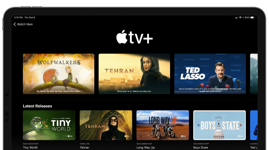 Apple is once again extending TV+ free trials