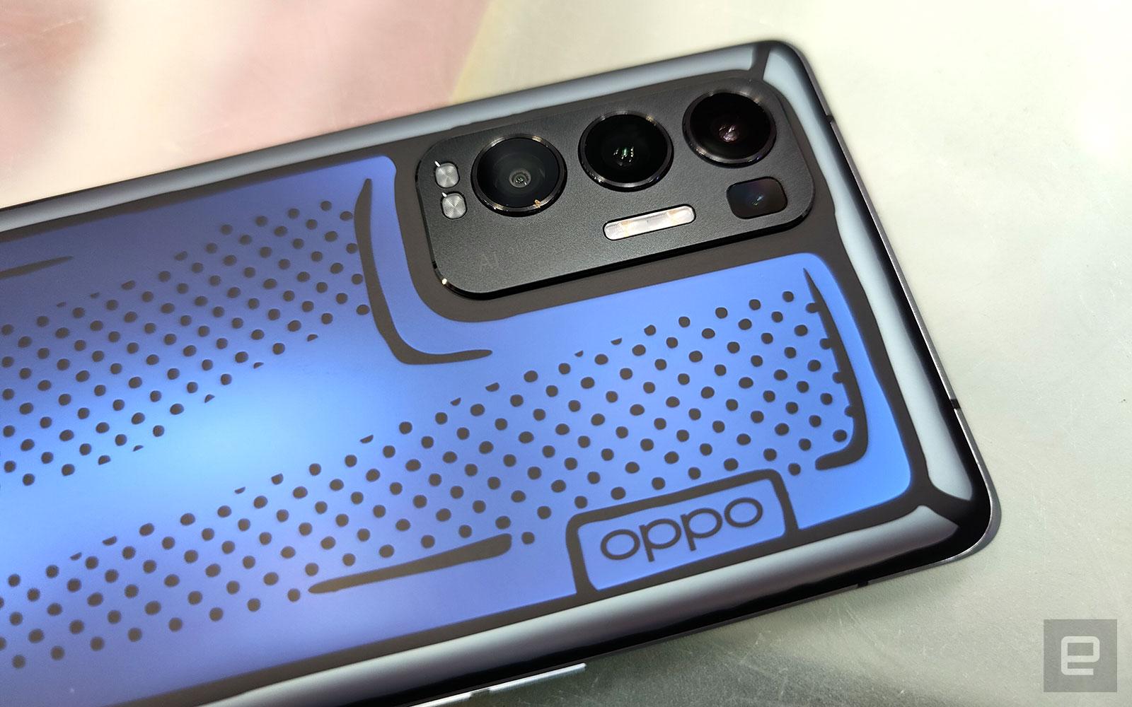 Oppo Reno5 Pro+ 藝術家限定版