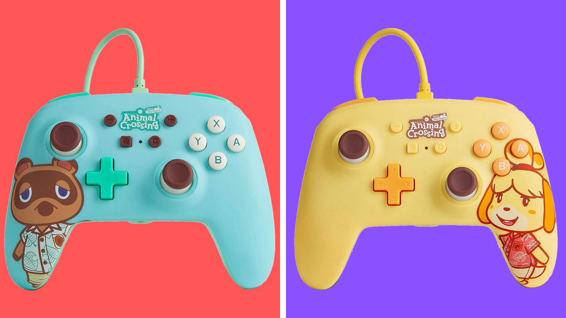 Quick! New Animal Crossing Nintendo Switch controllers are available for pre-order at Amazon