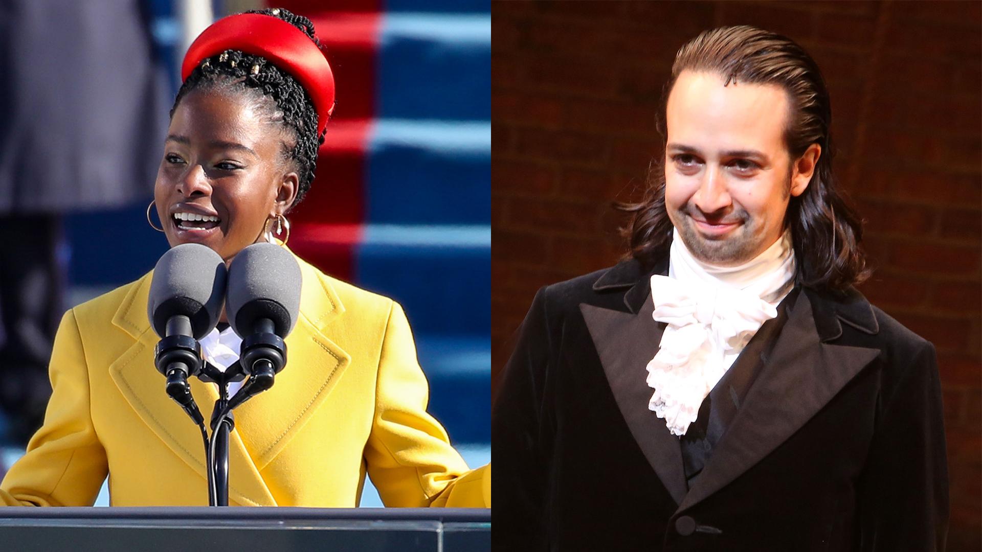 Inaugural poet Amanda Gorman reveals she used a 'Hamilton' song to help beat speech impediment