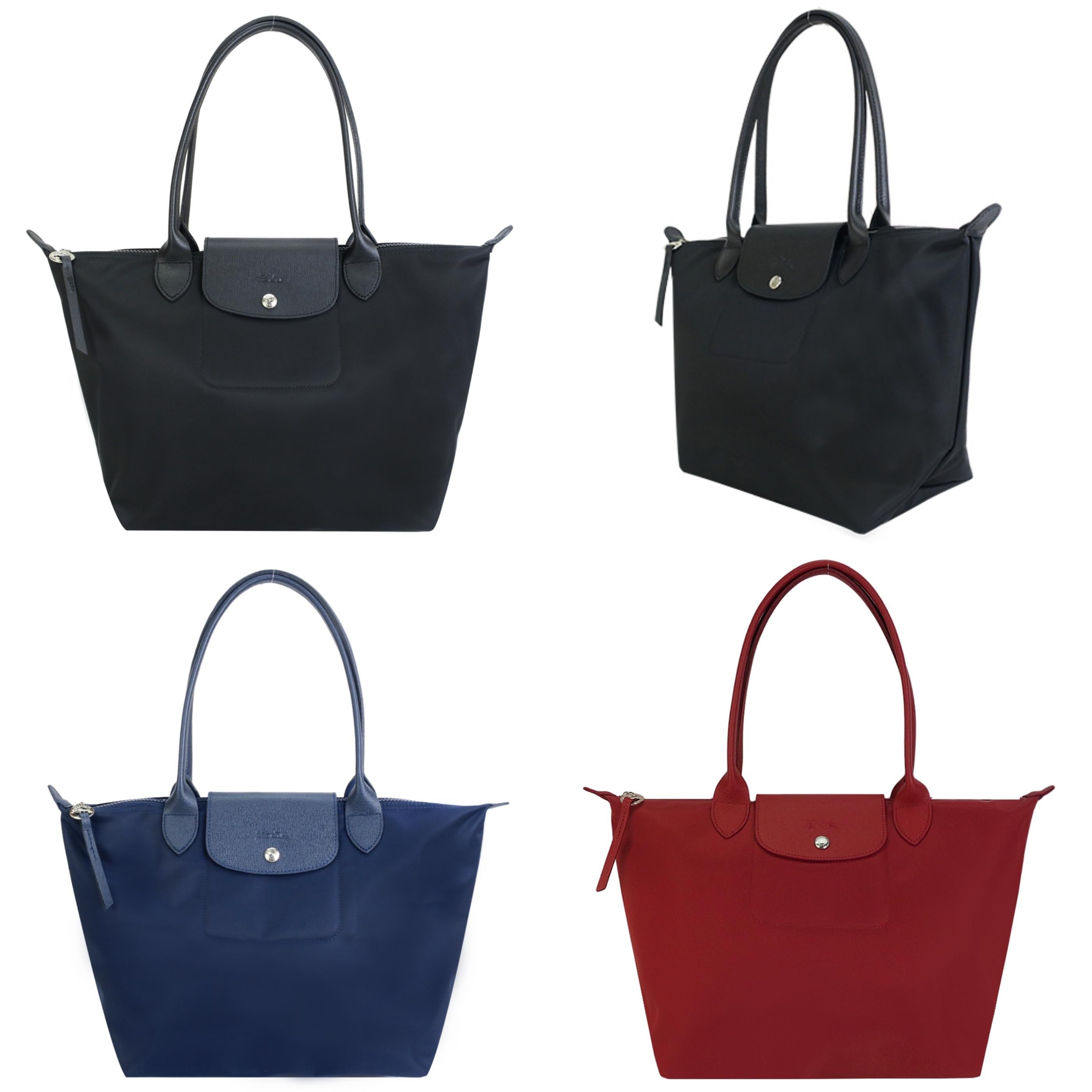 LONGCHAMP LE PLIAGE NÉO系列新款厚尼龍長把肩背水餃包(小) 高雅輕巧隨身包款,具強烈個性風格的時尚單品