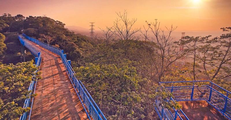 ▲銅鑼必去景點推薦-九華山天空步道。 (圖/yuntin888, Instagram)