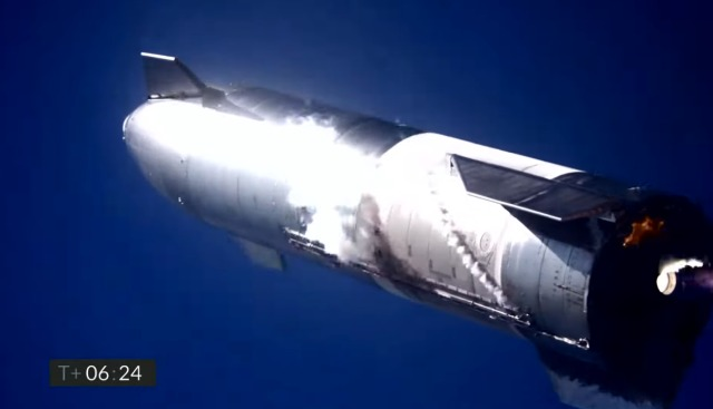 SpaceX SN9 test flight