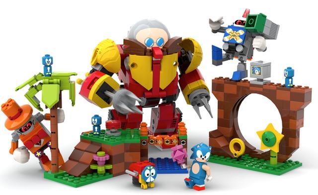 Lego Sonic Mania concept