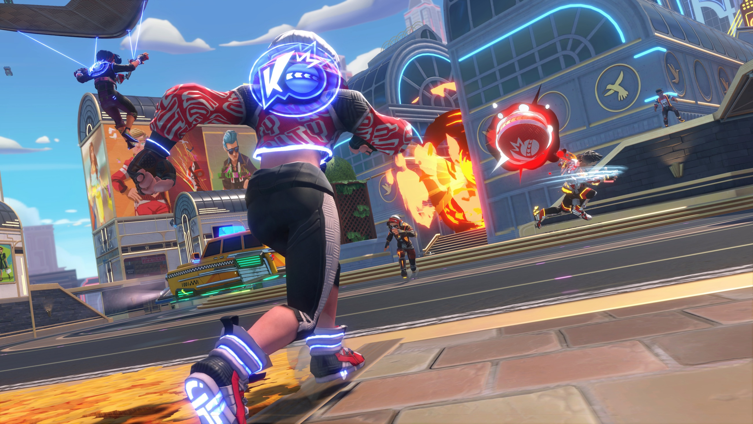 'Knockout City' is free for new players until they reach level 25 – Engadget