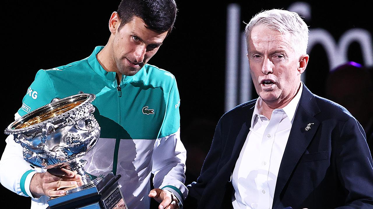 'Not allowed': Australian Open boss lifts lid on Novak Djokovic furore