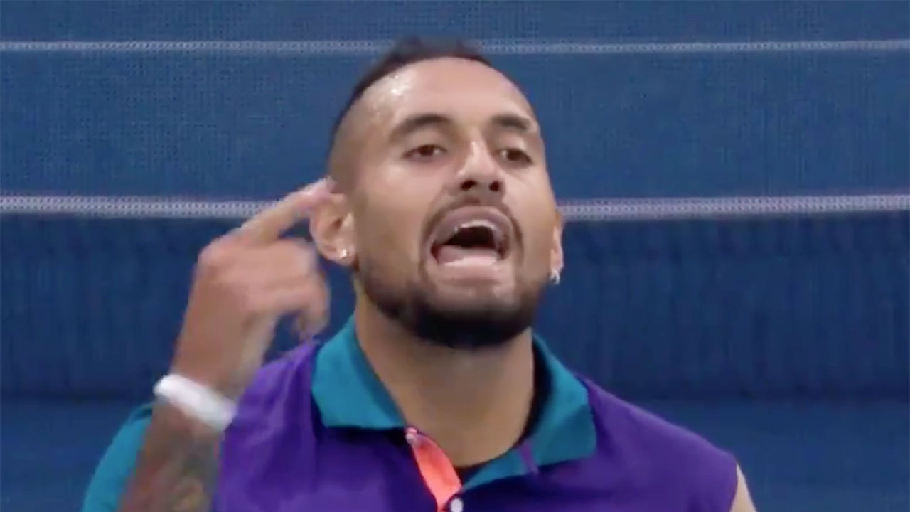 'Get her out': Nick Kyrgios' rant leaves fans perplexed