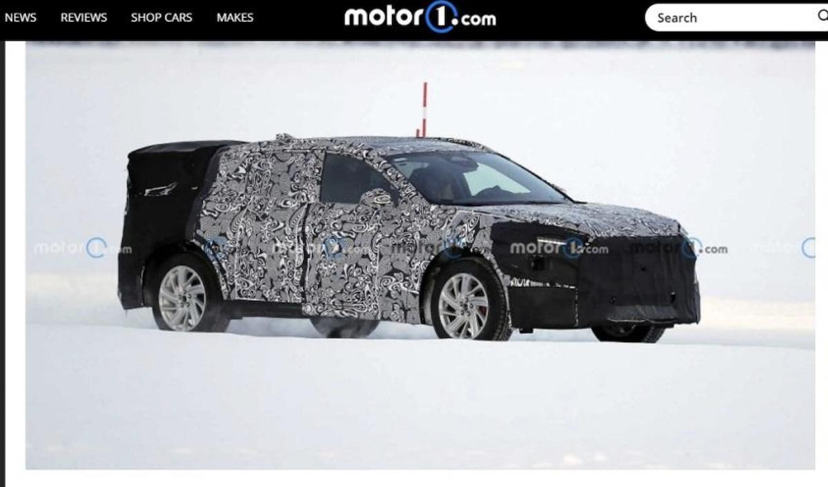 測試車擁有不少品牌前所未見的新設計。