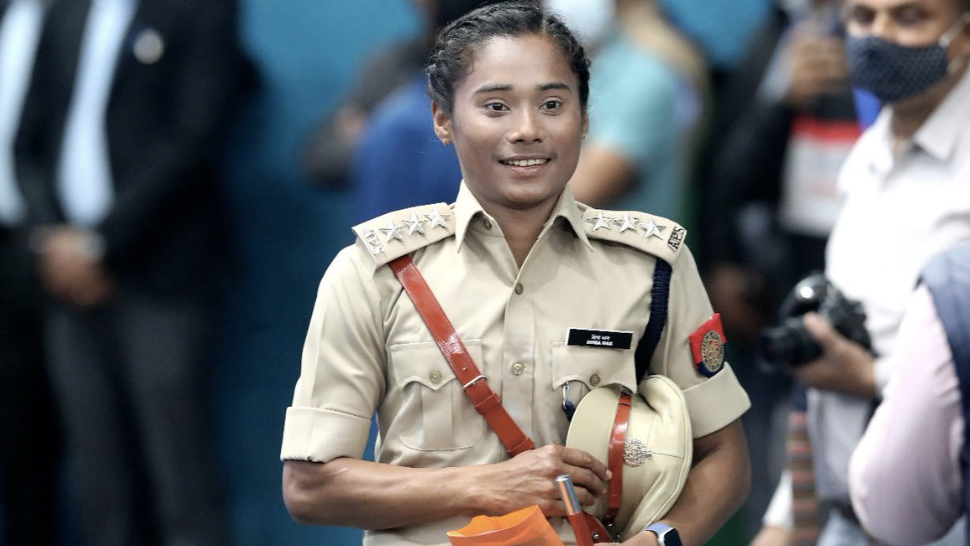 Speedster Hima Das appointed Deputy Superintendent of Police of Assam - Yahoo India News