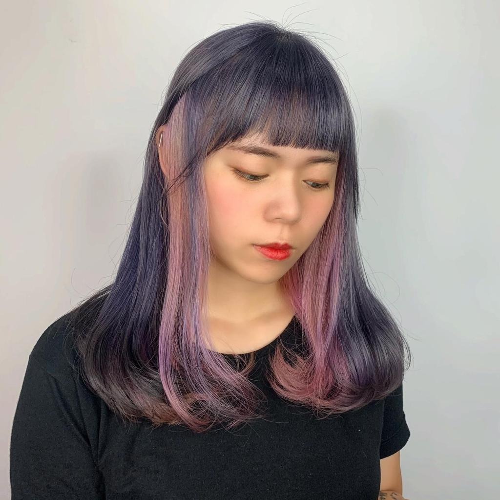 多層次的色調染髮也是很考驗設計師搭配的