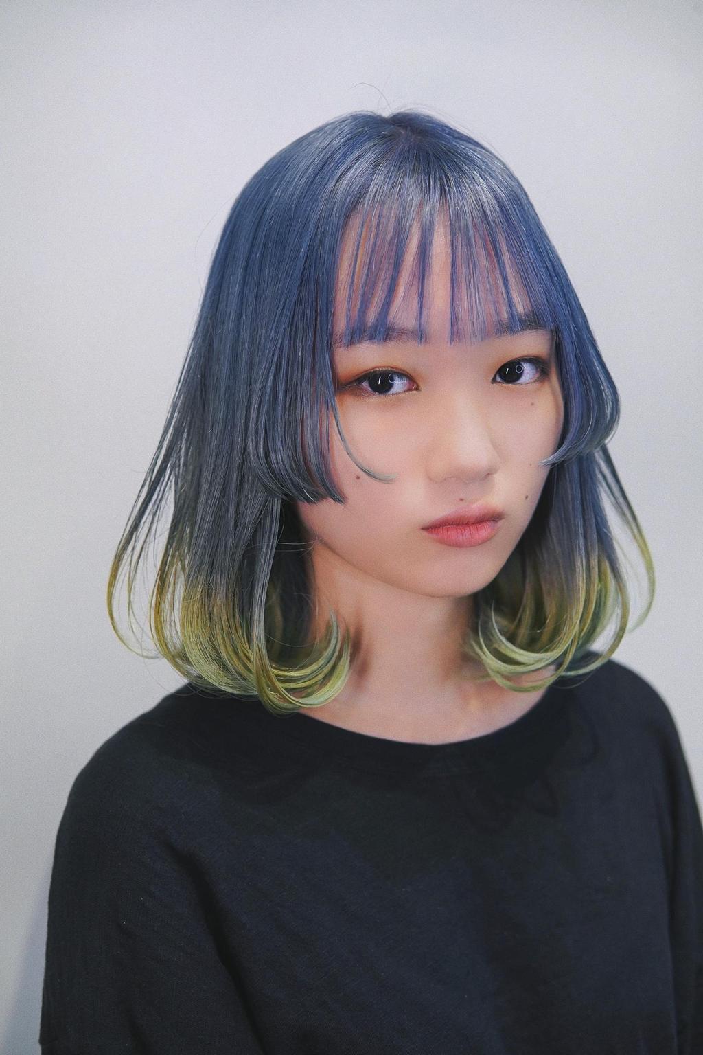 讓你的髮色像是調色盤一樣,發展出各種可能吧