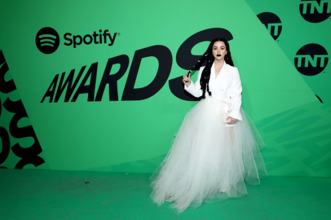 MEXICO CITY, MEXICO - MARCH 05: Estibaliz Badiola attends the 2020 Spotify Awards at the Auditorio Nacional on March 05, 2020 in Mexico City, Mexico. (Photo by Victor Chavez/Getty Images for Spotify)