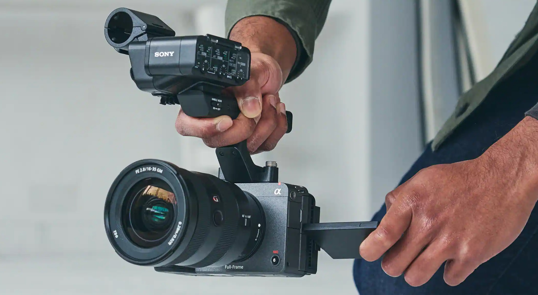 Sony's FX3 is a compact $3,900 camera for filmmakers