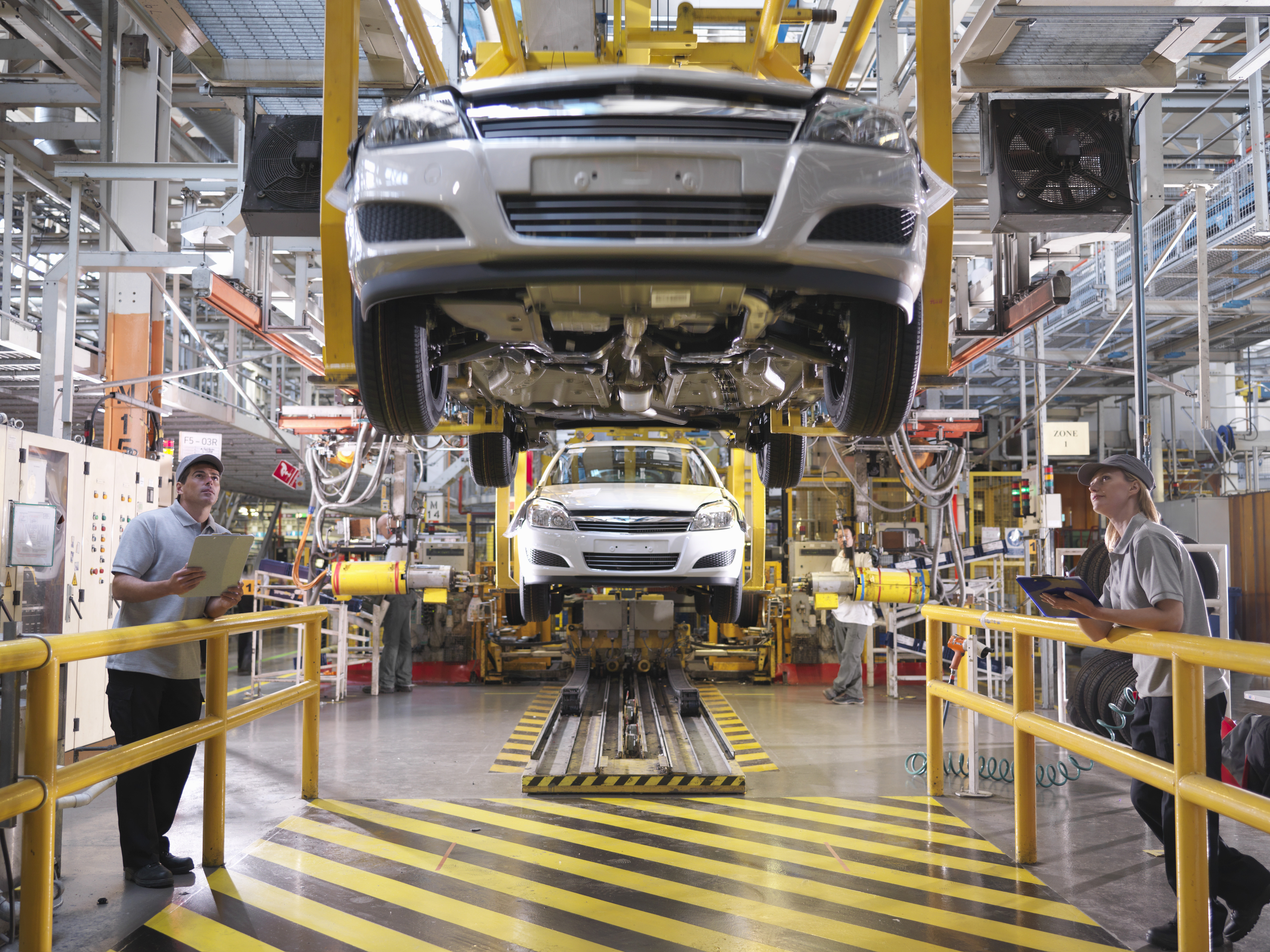 Manufacturing output fell 10% in 2020. Photo: Getty