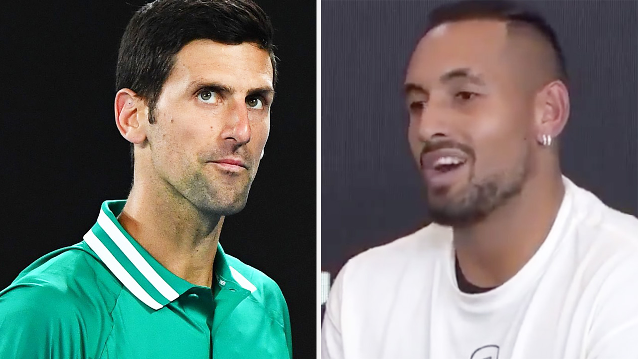 Nick Kyrgios' feud with Novak Djokovic escalates