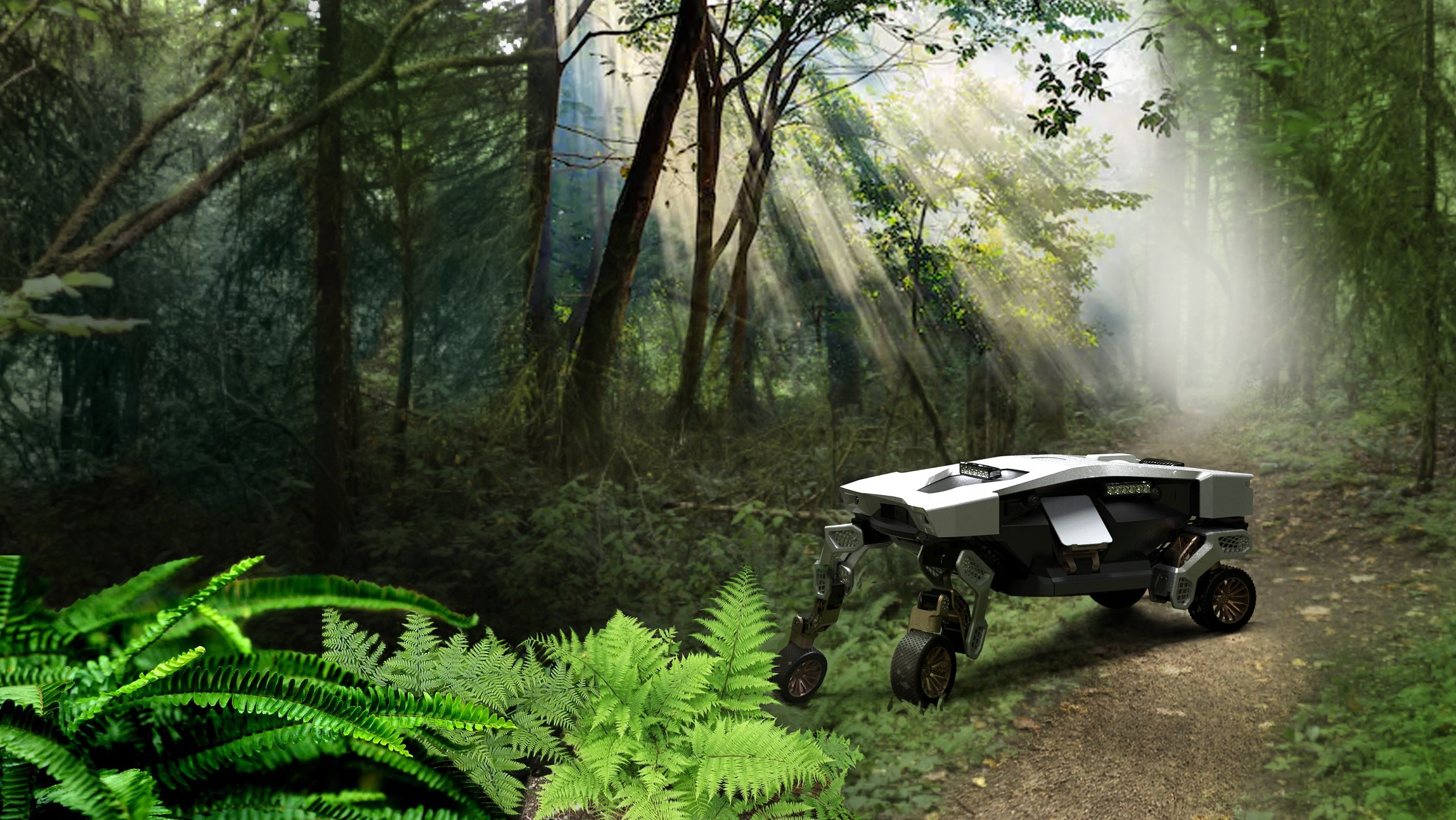 Hyundai's TIGER 'ultimate mobility vehicle' concept is the size of a housecat | Engadget - Engadget