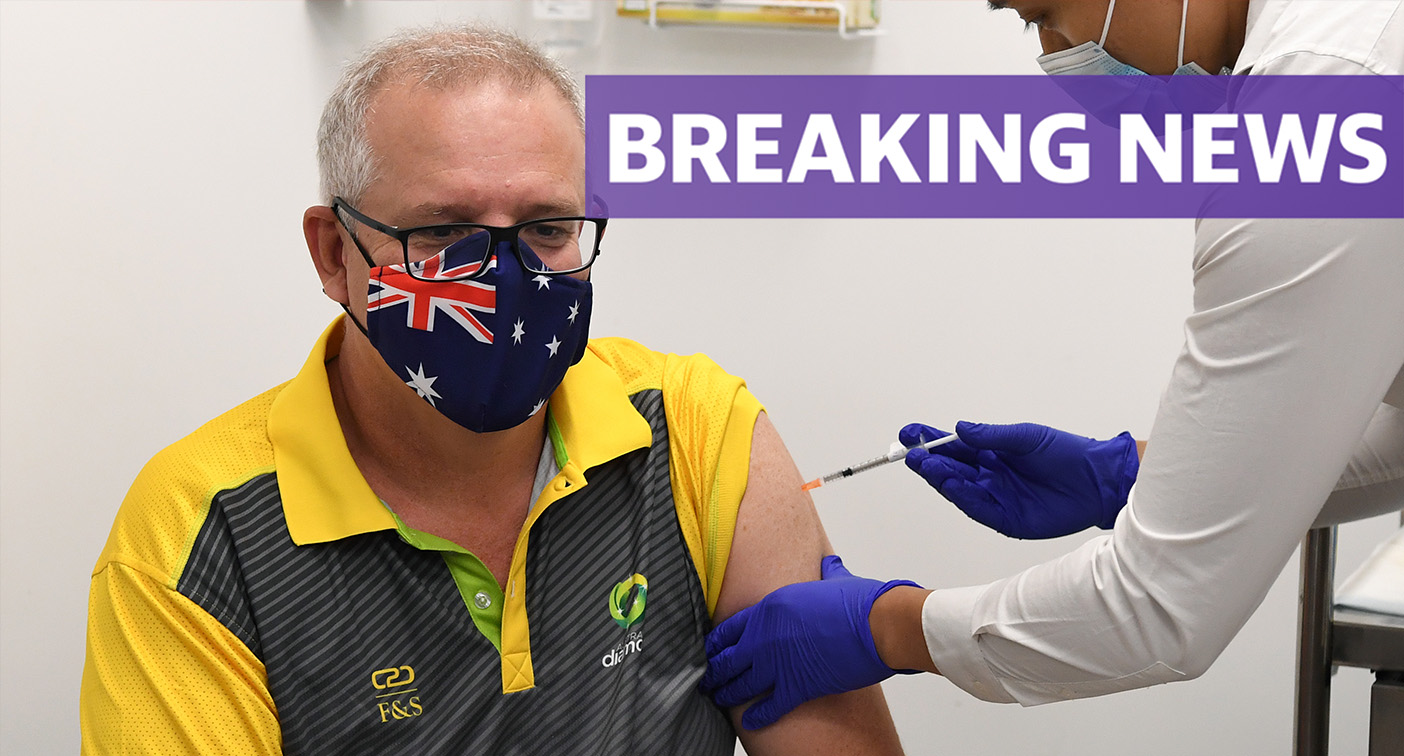 PM becomes one of the first Aussies to get Covid vaccine
