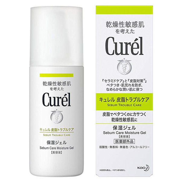 花王Curel油亮問題肌保濕凝露,NT$720