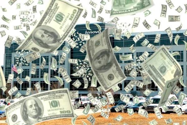 Lenovo money