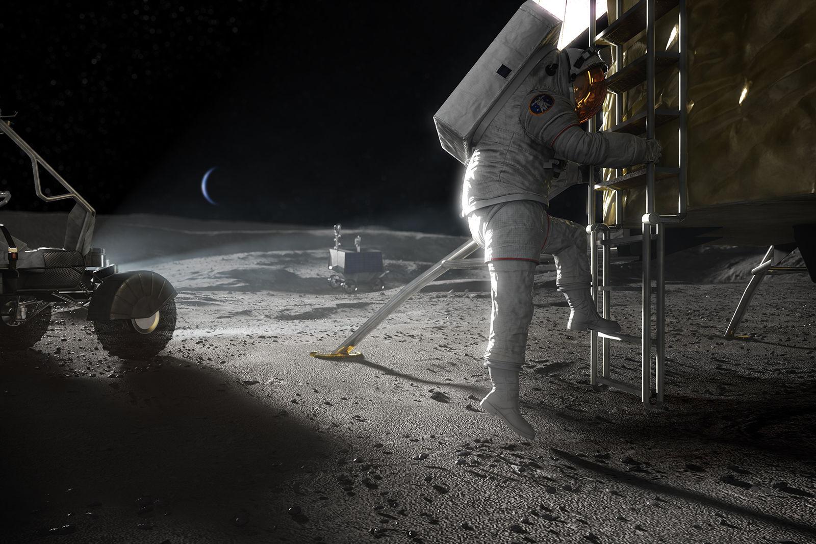 美國宇航局登月
