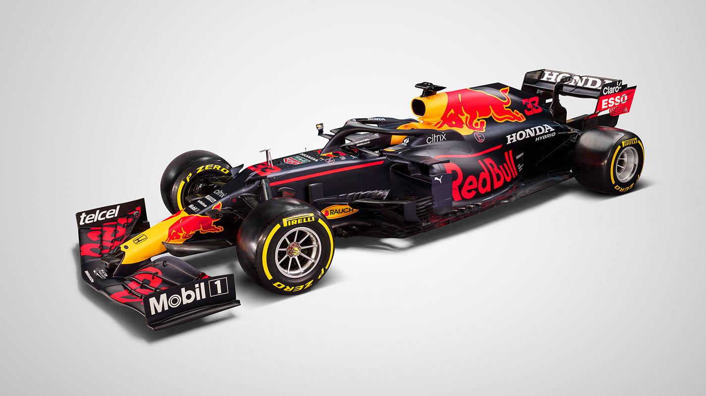 Red Bull車隊推出其2021年F1新車RB16B