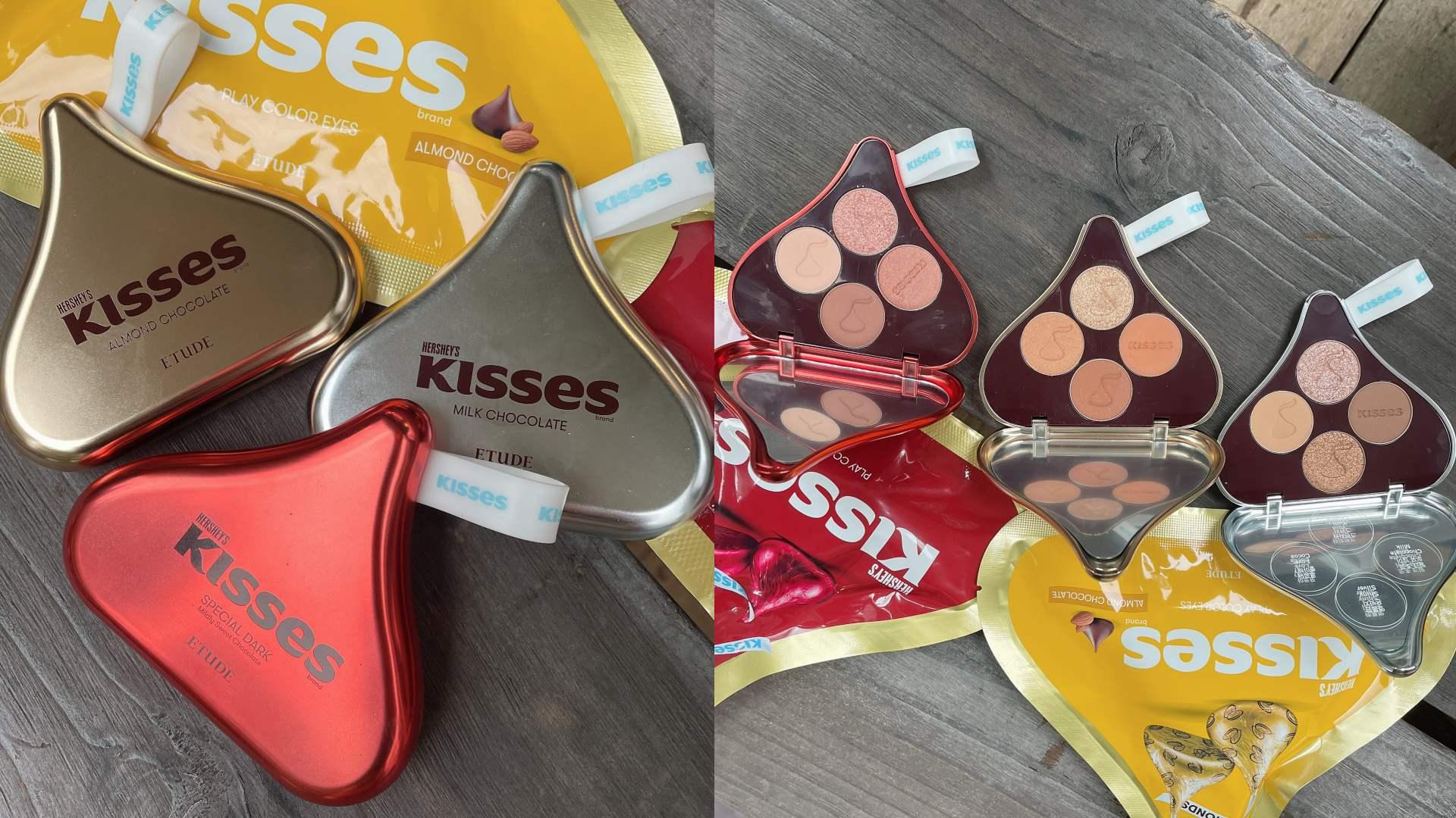 ETUDE 「HERSHEY'S KISSES 」玩轉色彩四色眼彩盤