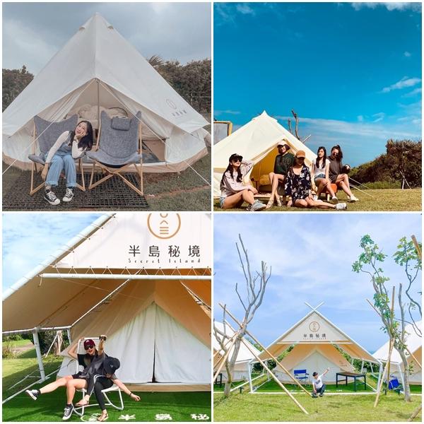 台灣「夢幻露營區」北中南盤點