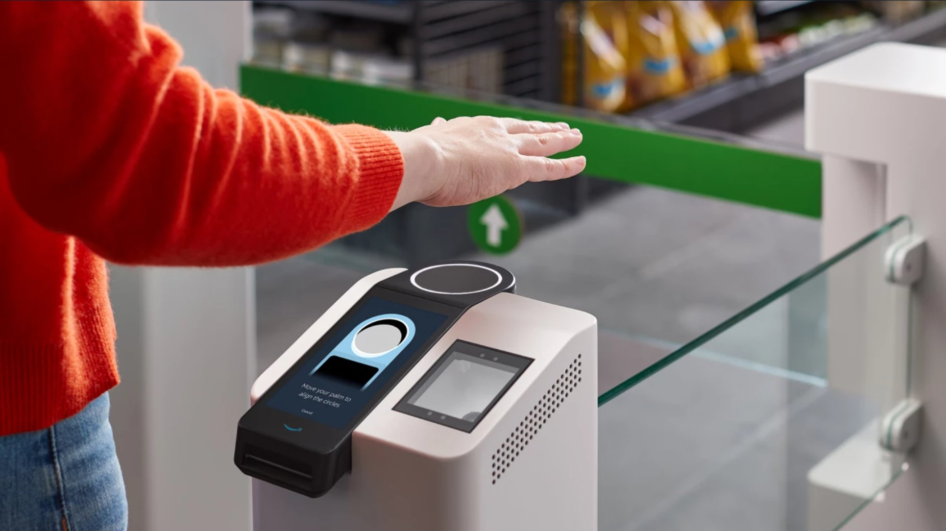 Amazon Adds Its Contactless Palm Reading One Tech To More Go Stores