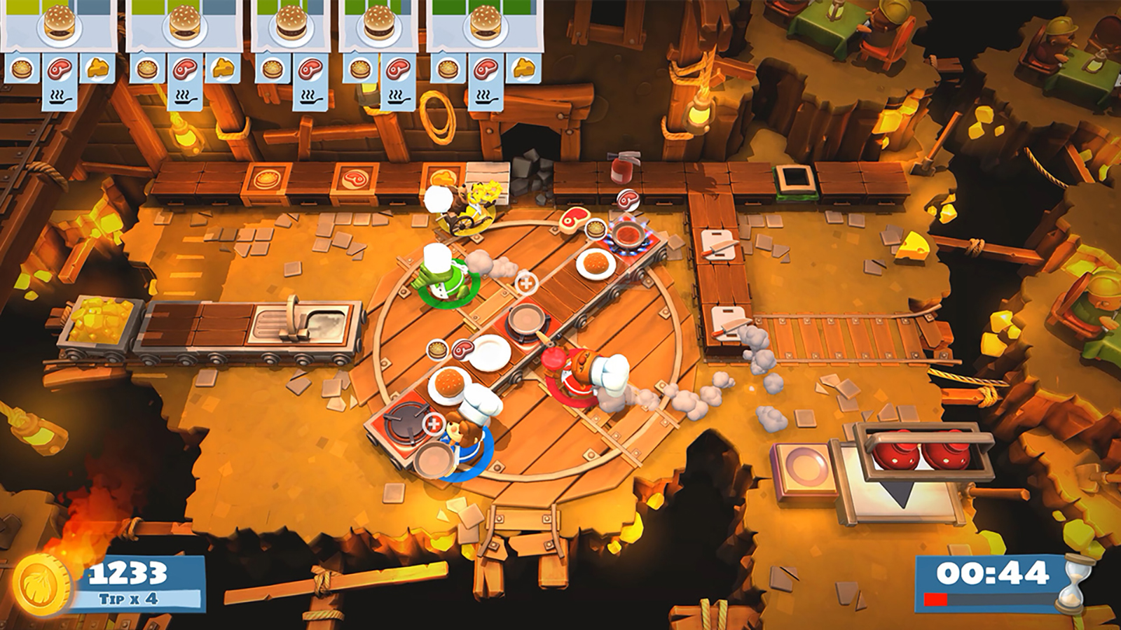 'Overcooked 2' for Switch will be free to play for a week