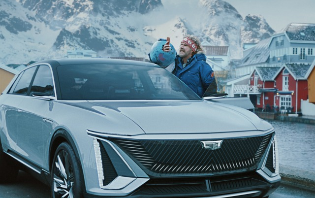 "General Motors' big game ad stars Will Ferrell, who discovers Norway far outpaces the United States in electric vehicle adoption. In the commercial, ""No Way, Norway,"" Kenan Thompson and Awkwafina join Ferrell on his action-packed journey to give Norwegians a piece of his mind."
