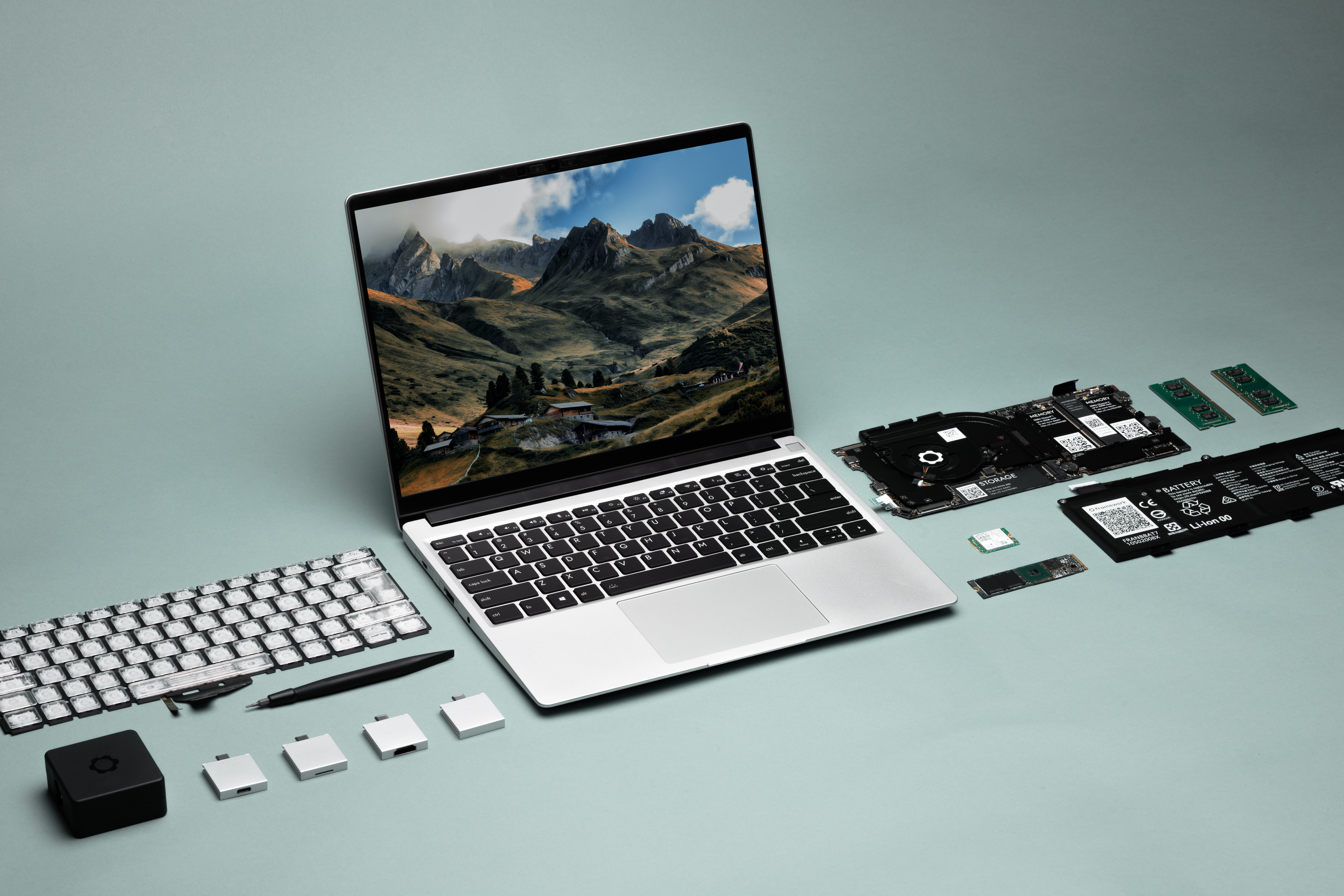 Startup designs a modular, repairable laptop