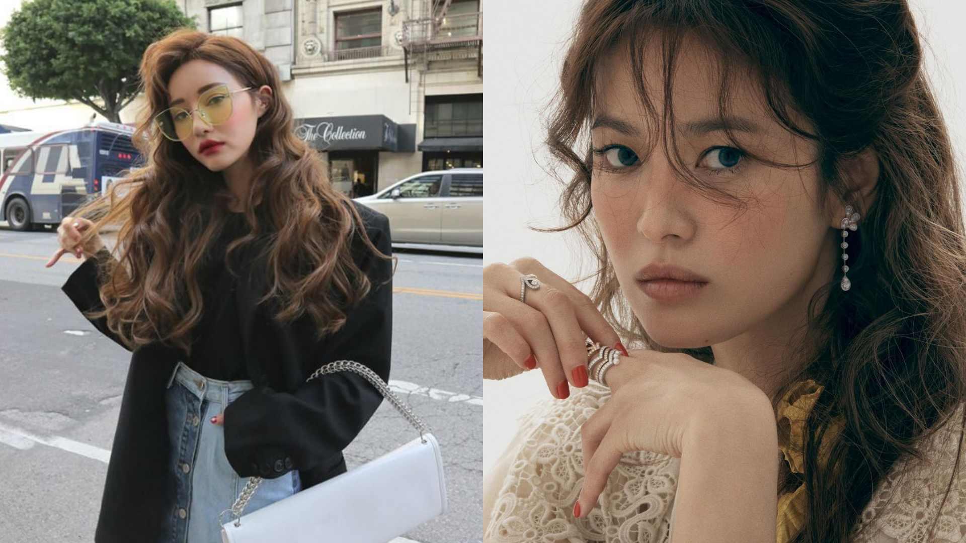 連女神宋慧喬也以羊毛捲髮的造型入鏡!