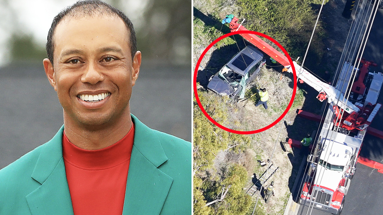 Explosive new theory emerges about cause of Tiger Woods crash