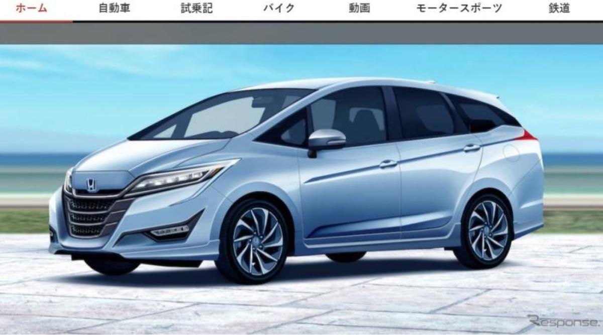 Honda 準備推出新一代 Freed,預計今年 10 月登場。圖為預想圖。