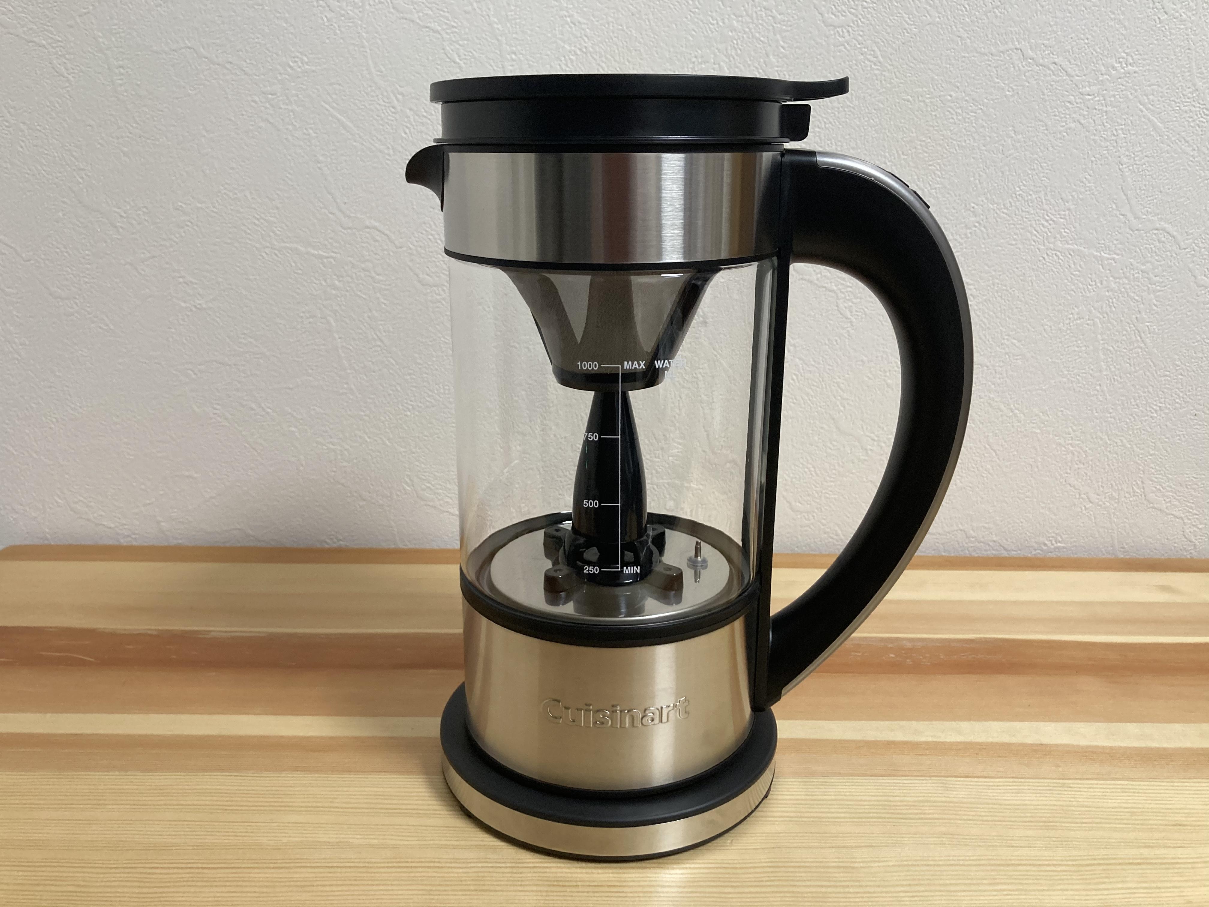 クイジナートが2020年11月に発売した「ファウンテンコーヒーメーカー」(実勢価格1万5000円前後)